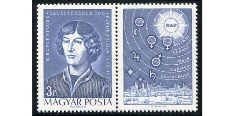 Copernicus on Stamps