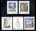 Red Cross on Stamps